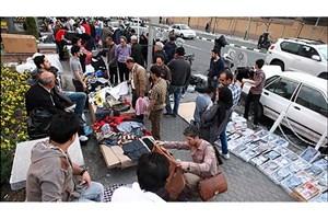 دستفروشان خیابان ولی عصر(عج) از اول بهمن جمع آوری می شوند