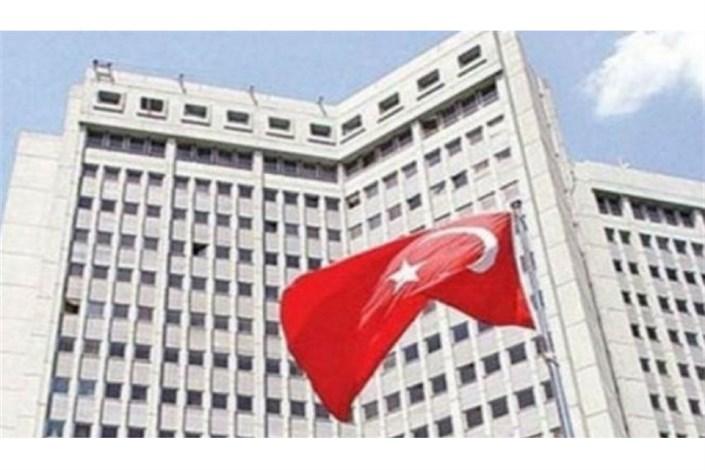 ترکیه تشکیل ارتش کُردی  در سوریه را محکوم کرد