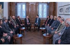 بشار اسد: جنگ سوریه جنگ فکری و رسانهای است