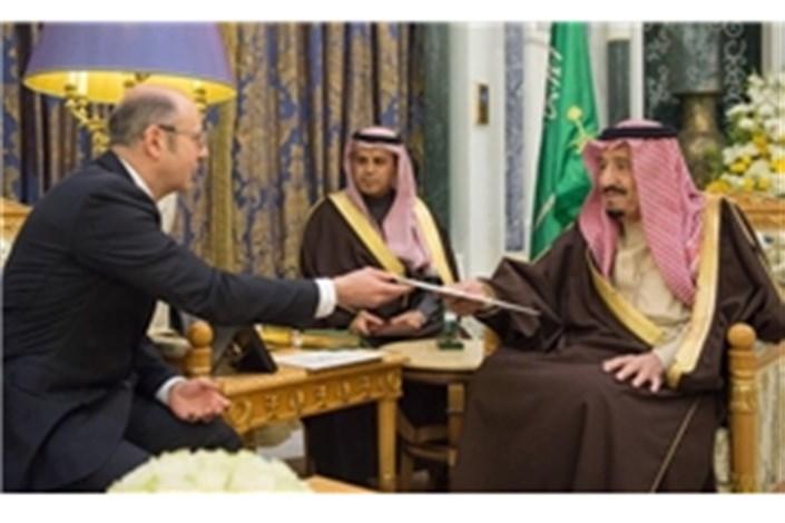 پیام مکتوب رئیس جمهور آذربایجان به شاه عربستان