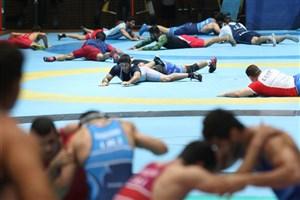 برگزاری اردوی تیم ملی کشتی آزاد جوانان