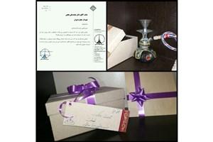 دانشجویان به شهردار تهران قلیان هدیه دادند