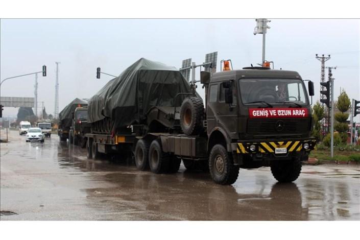 محموله های نظامی ترکیه به مرز سوریه رسیدند