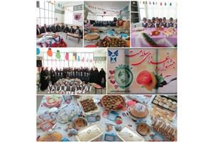 جشنواره غذای سالم در مرکز آموزشی فرهنگی سما تفت