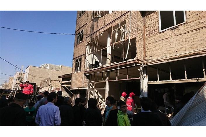انفجار گاز در اسلامشهر