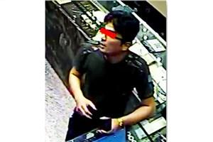سارق عابر بانک ها را شناسایی کنید/ پلیس به دنبال سارق  جوان