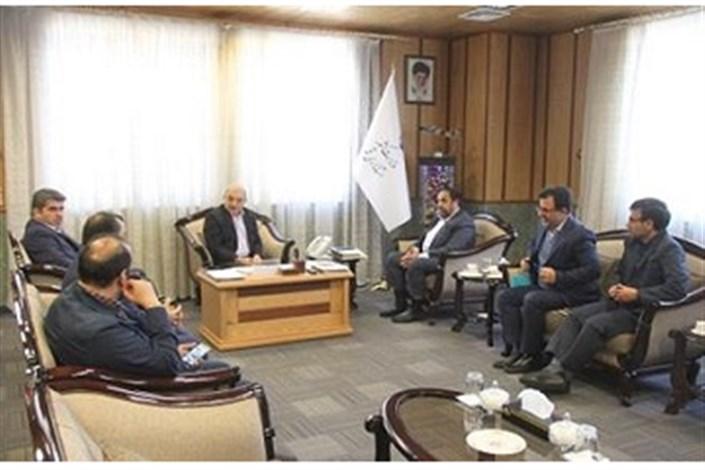 مدیر برق منطقه ای تهران در دیدار استاندار قم