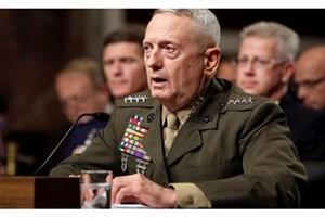 متیس: فعالیت های نظامی تحت تاثیر تعطیلی دولت قرار می گیرد