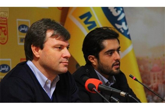 غیبت ساغلام در نشست خبری پیش از دیدار پارس جنوبی - تراکتورسازی