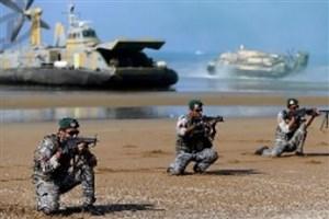 عملیات رزمایش دریایی ارتش درسواحل سیستان و بلوچستان