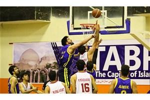 استارت فینال  بسکتبال در تبریز