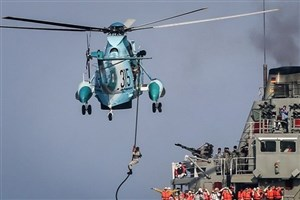 """""""مینریزی"""" در دریای عمان توسط ارتش"""