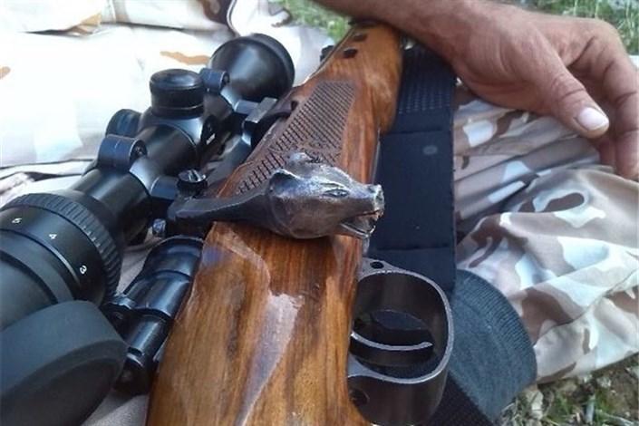 دستگیری شکارچیان غیر مجاز