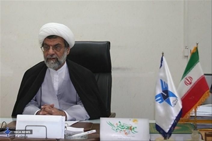 حجت الاسلام والمسلمین دکتر فرج اله براتی دانشگاه آزاد اهواز خوزستان