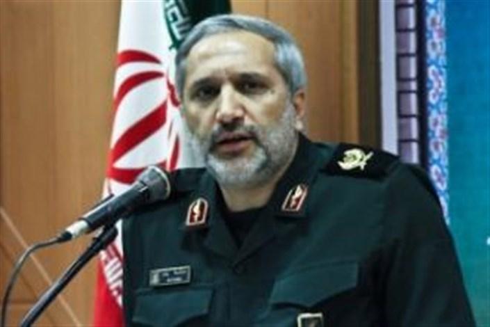 فرمانده سپاه تهران بزرگ از مجروح اغتشاشات خیابان پاسداران عیادت کرد