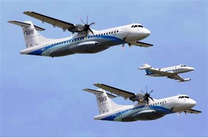 پرواز هواپیماهای ATR72 آسمان تا اطلاع ثانوی متوقف شد