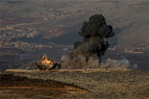 کاخ سفید استفاده ترکیه از سلاح شیمیایی در عفرین را بعید دانست