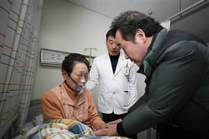 دیدار نخست وزیر کره جنوبی از حادثه دیدگان بیمارستان سجونگ