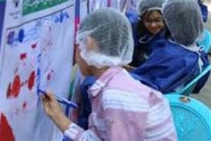 برگزاری مسابقه نقاشی کودکان با موضوع چالشهای شهری در بردسیر