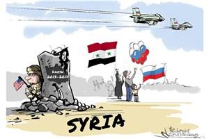 آمریکا پشت خرابه های داعش