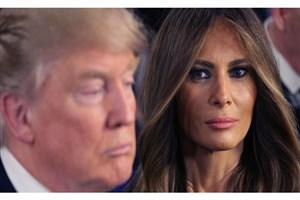 واکنش ملانیا ترامپ  به اخبار  رسوایی جنسی رییس جمهور آمریکا