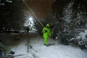 محسن هاشمی : برف درجنوب پایتخت بیشتر از شمال تهران بارید