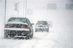 یخ زدگی و بارش باران و برف در جاده ها/بروز پدیده گرد و خاک در خوزستان