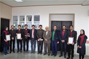کسب سه مقام برتر توسط تیم بتن نقشجهان واحد اصفهان(خوراسگان)