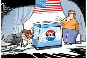 دست های پشت پرده انتخابات آمریکا