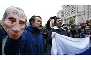 دستگیری رهبر اپوزوسیون روسیه