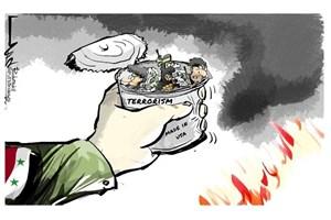 داعش در دستان سوریه