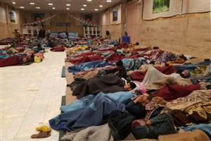 دیشب  3000  کارتن خواب و بیخانمان در ۱۸ گرمخانه  اسکان داده شدند