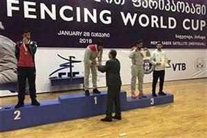 کسب مدال طلای مسابقات شمشیربازی گرجستان توسط دانشجوی واحد رشت