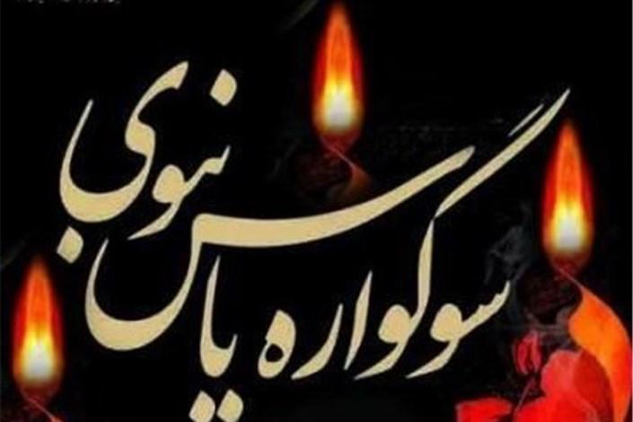 سوگواره یاس نبوی در امامزاده روح الله(ع) به مدت ۳ روز برگزار می شود