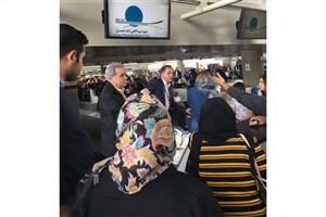 معطلی و سرگردانی مردم  از پروازهای کنسل شده و تاخیرهای طولانی در فرودگاه امام / گزارشی از یک اختلال