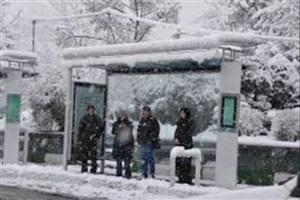 تمهیدات اتوبوسرانی در روزهای برفی/ گشتها فعال میشوند