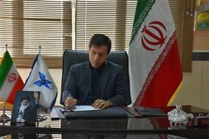 پیام تسلیت رئیس دانشگاه آزاد اسلامی واحد بوکان در پی سقوط هواپیمای مسافربری