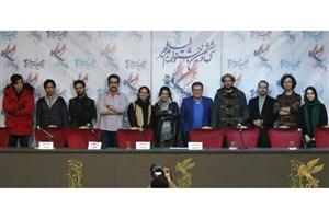 عوامل ساخت فیلم های کوتاه جشنواره فیلم فجر به پرسش های اصحاب رسانه پاسخ دادند