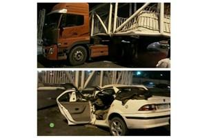 تعداد قربانیان سقوط پل عابر پیاده در پاکدشت به ۳ نفر رسید