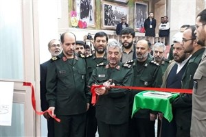 نمایشگاه «جلوههای تحول پژوهش و فناوری سپاه» افتتاح شد