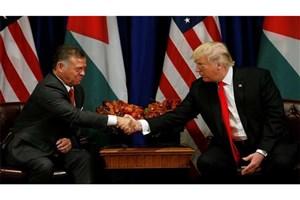 پادشاه اردن: نقش آمریکا در حل مسالمت آمیز مساله فلسطین ضروری است