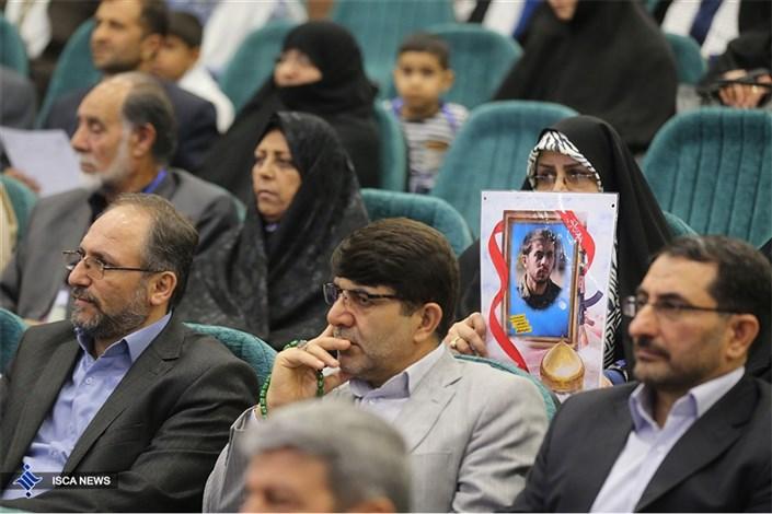 مراسم تجلیل از شهدای دانشجویی مدافع حرم دانشگاه آزاد اسلامی