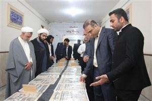 افتتاح نمایشگاه روز شمار انقلاب در واحد بندرعباس