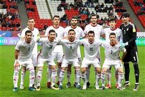 رونمایی از ترکیب تیم ملی ایران