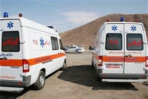 تعداد مصدومان حادثه واژگونی اتوبوس در فارس به 22 نفر رسید