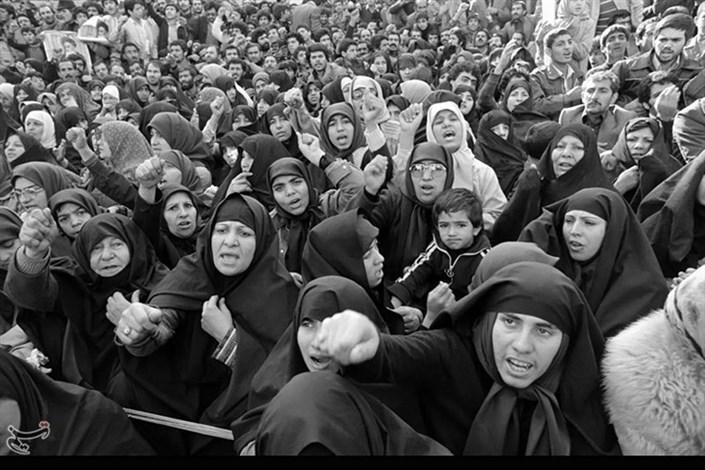 زنان در انقلاب  57