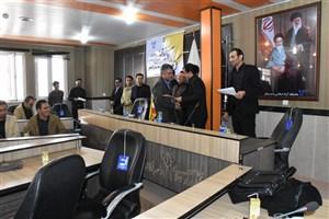 تجلیل از برگزیدگان بیست و سومین مسابقات قرآن و عترت (ع) در دانشگاه آزاد واحد بوکان