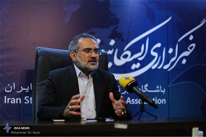 حضور سید محمد حسینی  وزیر سابق فرهنگ و ارشاد اسلامی در خبرگزاری ایسکانیوز