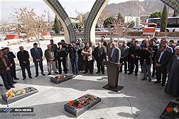 مراسم غبارروبی  و عطرافشانی یادمان شهدای گمنام دانشگاه آزاد اسلامی اصفهان(خوراسگان)