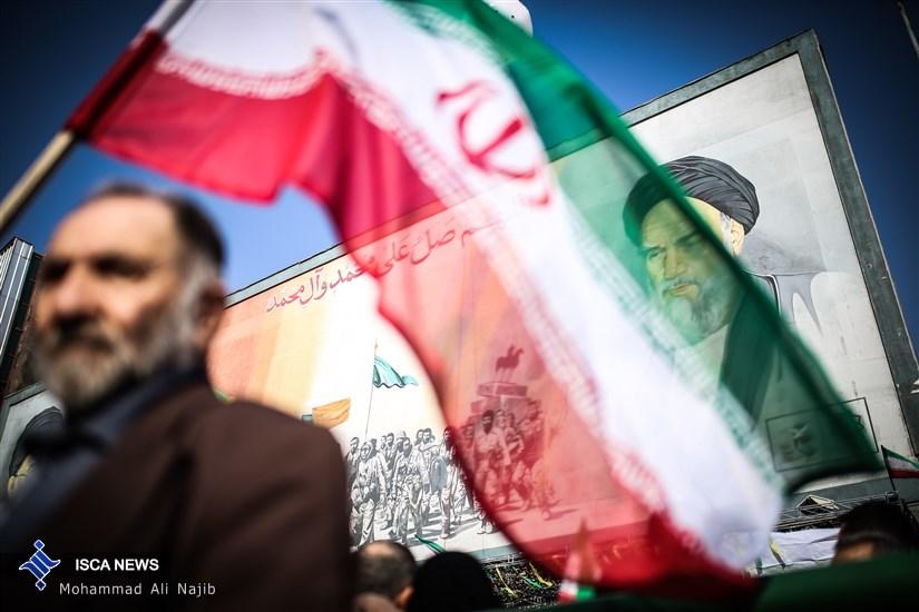 راهپیمایی پر شکوه 22 بهمن -1